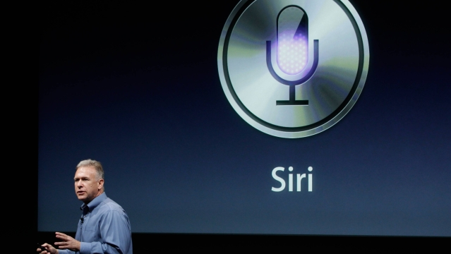 Apple's Phil Schiller talks about Siri.