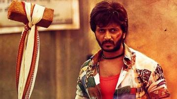 Ritesh Deshmukh in a scene from <i>Lai Bhari </i>