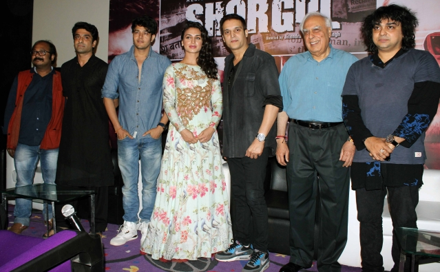 The trailer launch of <i>Shorgul</i> (Photo: Yogen Shah)