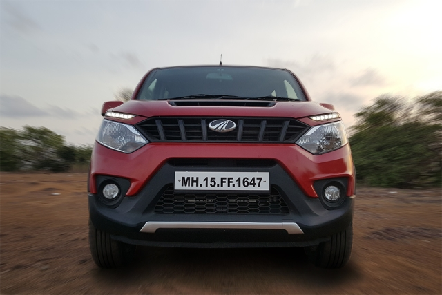 Mahindra Nuvosport. (Photo Courtesy: Motorscribes)