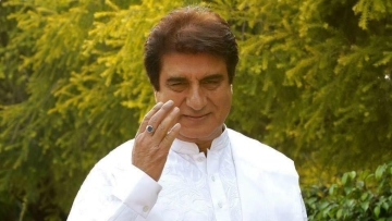 The actor-turned-politician, Raj Babbar.