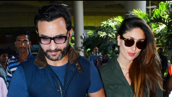 Saif Ali Khan with Kareena Kapoor Khan (Photo: Yogen Shah)