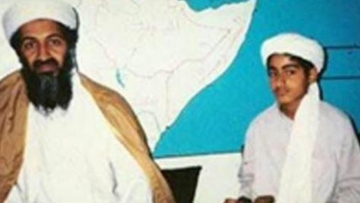 "In a 21-minute speech, ""We Are All Osama,"" Hamza bin Laden has promised to continue avenge his father's death. (Photo Courtesy: Twitter/<a href=""https://twitter.com/__Kora/status/632297025476919296"">@_Kora</a>)"