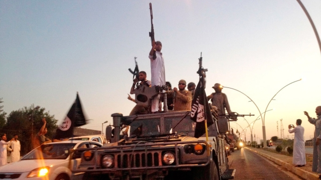 ISIS fighters. (Photo: AP)