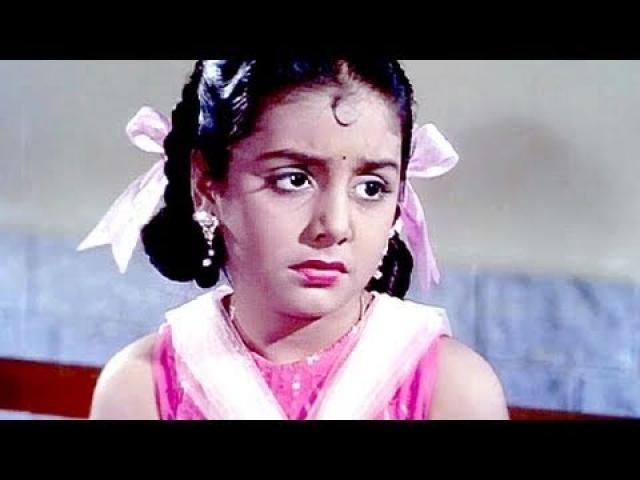 Child actor Neetu in <i>Do Kaliyan.</i>