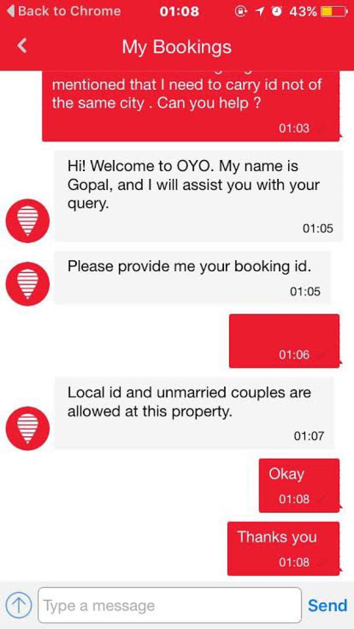 From no rooms to oyo rooms for unmarried couples the quint unmarried couples and local ids are allowed at some of oyo hotels photo screenshot thecheapjerseys Images