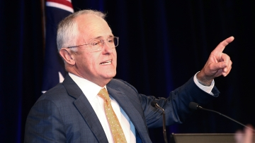 Malcolm Turnbull's conservative coalition has secured enough votes in the Australian federal elections to retain power. (Photo: AP)