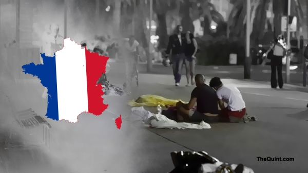 The attack in Nice killed 85, and injured over a 100. (Photo: <b>The Quint</b>)