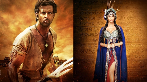 Hrithik Roshan and Pooja Hegde in <i>Mohejo Daro. </i>(Photo courtesy: Twitter)