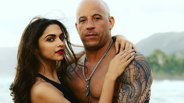 Deepika Padukone and Vin Diesel in <i>XXX: The Return Of Xander Cage.</i>