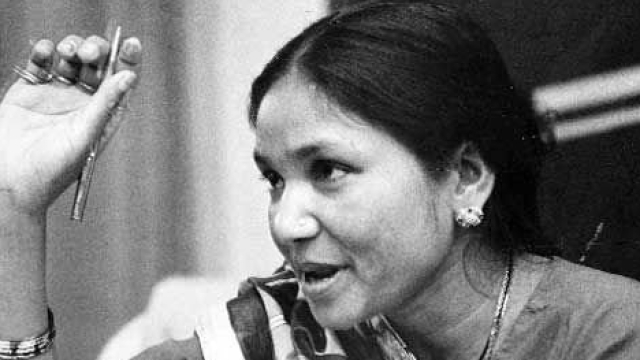 "Phoolan Devi was charged with 48 crimes, including 30 charges of dacoity (banditry) and kidnapping and remained in prison for 11 years. (Photo Courtesy: Twitter/<a href=""https://twitter.com/search?f=images&vertical=default&q=phoolan%20devi&src=typd'"">@Venecia</a>)"