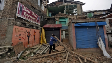India along with Myanmar and Bangladesh faces the risk of a monster earthquake in the near future. This image is used for representational purposes. (Photo: Reuters)