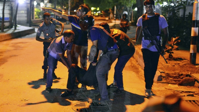 The Dhaka terror attack left 22 people dead. (Photo: AP)