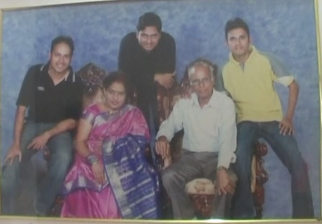 The Gavai family in happier times. (Photo courtesy: Praful Vhatkar)