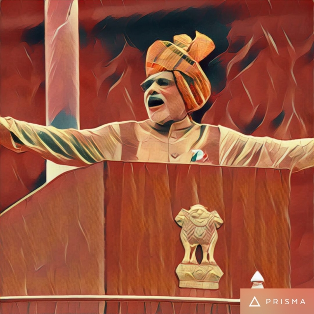 Painting Indian Politicians The Prisma Way