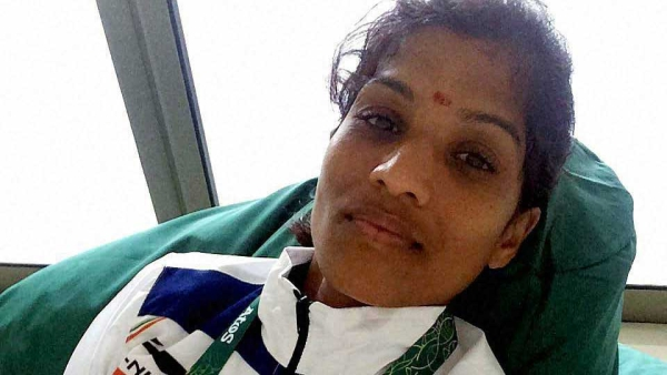 OP Jaisha had fainter after finishing her marathon event at the Rio Olympics. (Photo: PTI)