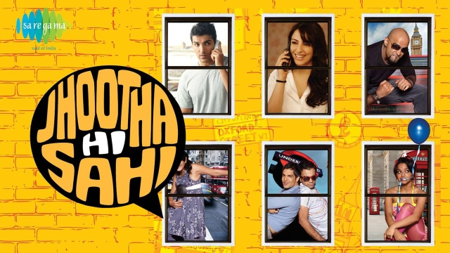 Saregama tried its hand at film production with <i>Jhootha Hi Sahi.</i>