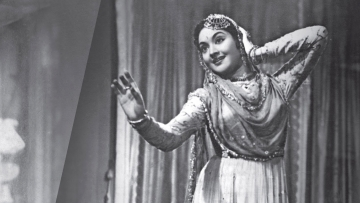 Vyjayanthimala in a still from <i>Devdas</i>.
