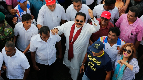 Sri Lanka's New President Names Brother Mahinda as Prime Minister