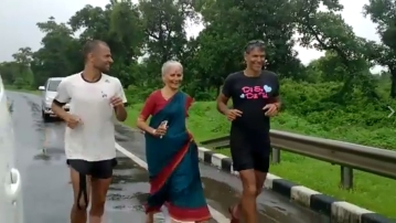 (Photo Courtesy: Screengrab of The Great India Run video)