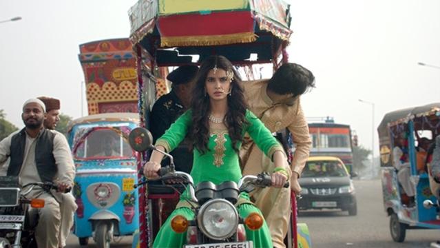 A still from <i>Happy Bhag Jayegi</i>.