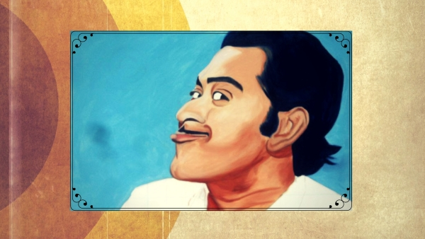 Celebrating Kishore Kumar's Filmfare wins on his death anniversary. (Photo courtesy: Bollywood Art Project; altered by<b> The Quint</b>)