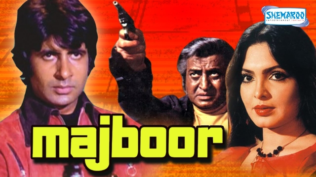 Poster of <i>Majboor</i>. (Photo courtesy: Premji)