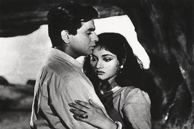 A still from <i>Madhumati</i>.