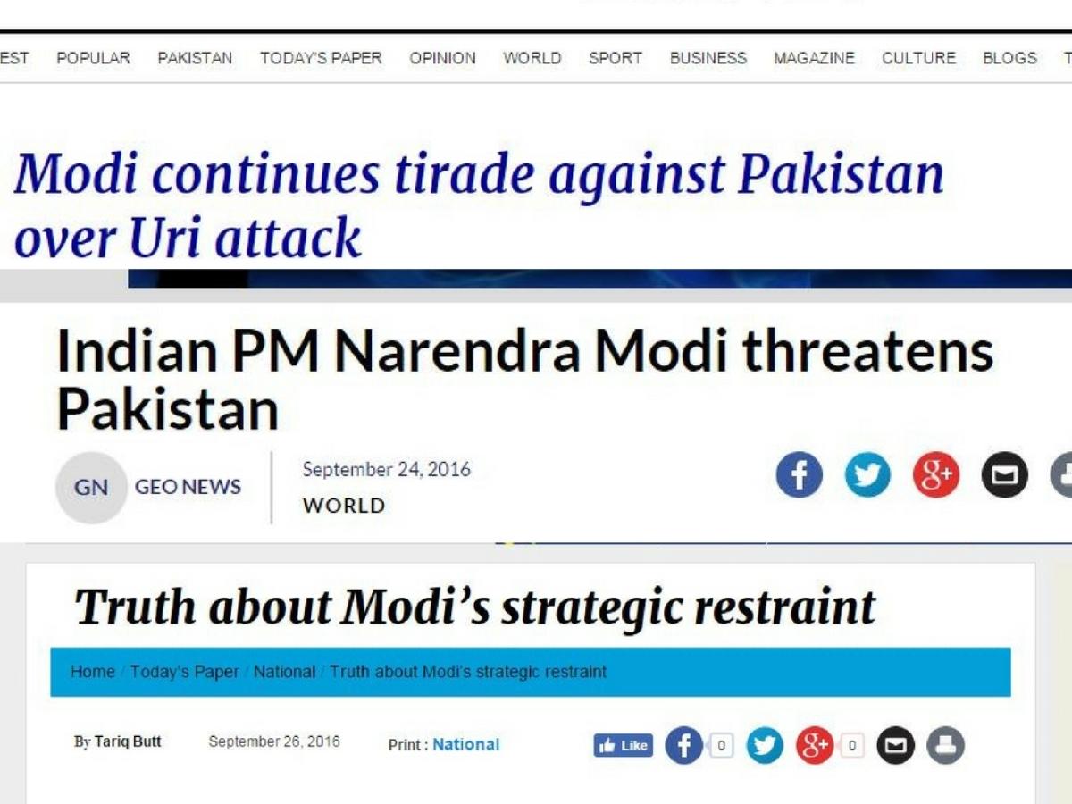 Tyrant, Butcher, Hate-Monger: Pak Media's Acid Response to