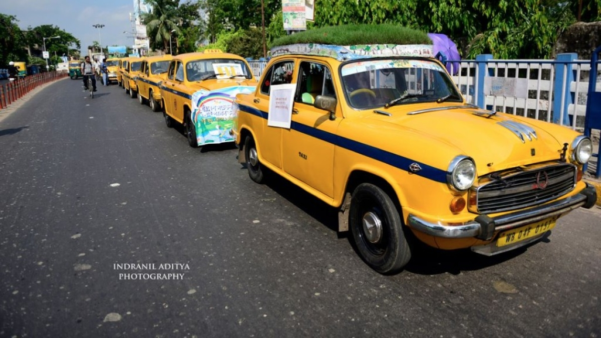Garden on Wheels, This 'Green Taxi' is a Hit In Kolkata