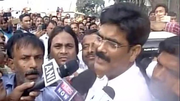 Former RJD MP Mohammad Shahabuddin was given bail after 11 years in prison. (Photo: ANI)