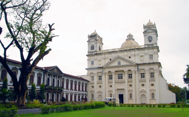 "St Cajetan church in old Goa, which has 25 percent Christian population. (Photo Courtesy: <a href=""https://goatouristplaces.wordpress.com/"">Goa Tourist Places</a>)"