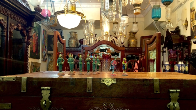 At Abdul's curio store in Hyderabad, history's dolled up! (Photo: Vikram Venkateswaran)