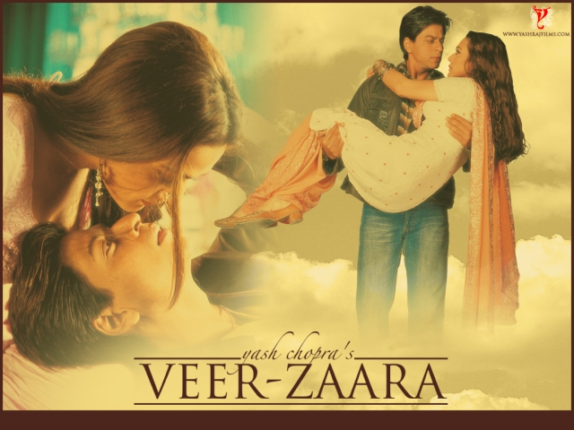 A poster of <i>Veer-Zaara. </i>(Photo courtesy: Twitter)