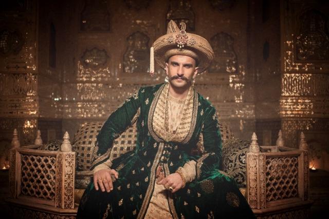 Ranveer Singh in <i>Bajirao Mastani.</i>