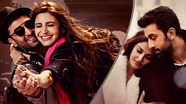 "Ranbir Kapoor, Anushka Sharma and Aishwarya Rai Bachchan in the poster of <i>Ae Dil Hai Mushkil</i>. (Photo courtesy: <a href=""https://twitter.com/DharmaMovies/status/778558087254855680"">Twitter/@DharmaMovies</a>)"
