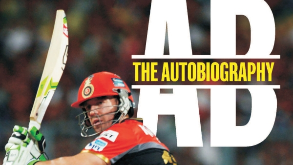The cover of the book <i>AB: The Autobiography</i>. (Photo: Pan Macmillan)