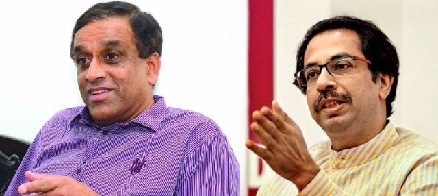 Sudin Dhavlikar of MGP and Uddhav Thackeray of Shiv Sena. (Image: Altered by <b>The Quint</b>)