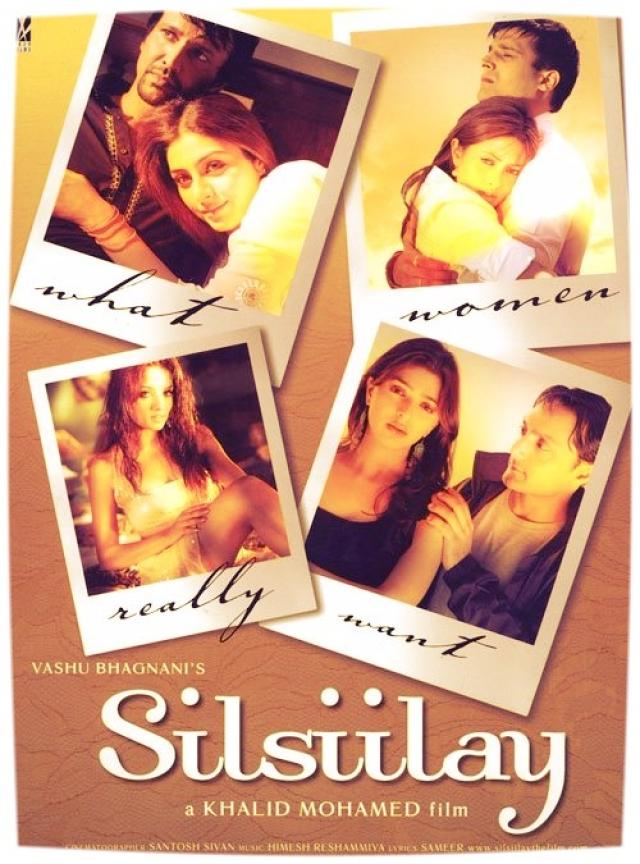A poster of Khalid Mohamed's <i>Silsiilay.</i>