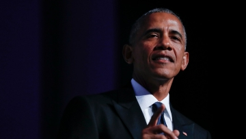 Obama speaking at the Congressional Black Caucus Foundation's annual Legislative Conference Phoenix Awards Dinner, Saturday, 17 September 2016, in Washington. (Photo: AP)