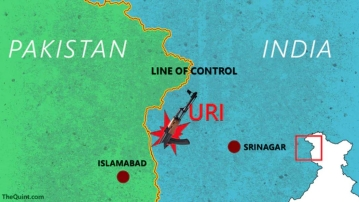 The attack took place around 5:30 am when fidayeen terrorists  attacked the base camp of the 18th Battalion in Uri. (Photo: <b>The Quint</b>)