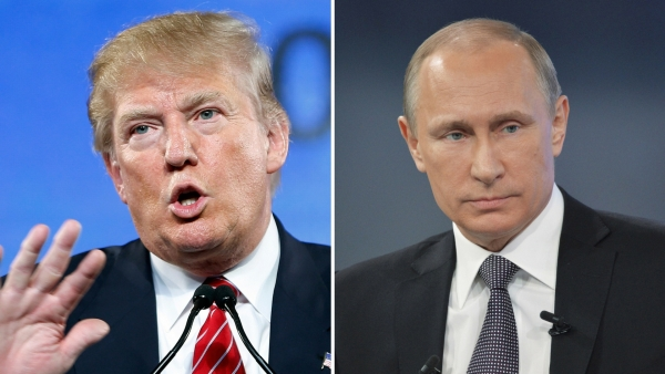 Donald Trump (left) and Vladimir Putin. (Photos: Reuters)