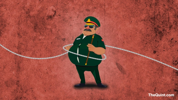 Obese Armymen will lose out on foreign postings, deputations, and career courses. (Photo: Hardeep Singh/<b>The Quint</b>)