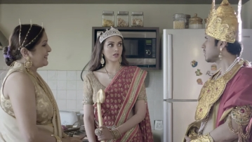 """Mama's boys is the perfect interpretation of what would have happened if Draupadi was to marry five men today. (Photo Courtesy: Screengrab of <a href=""""https://www.youtube.com/watch?v=YKAXzjnAbA0"""">Mama's Boys</a>)"""