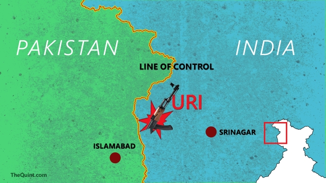 Location of the attack site. (Photo: Aaqib Raza Khan/<b>The Quint</b>)