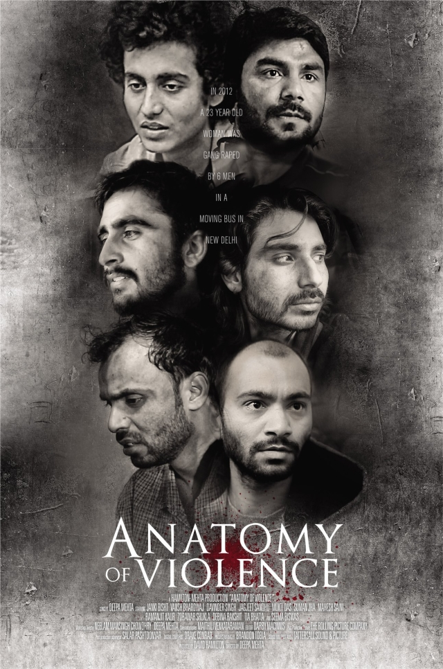 Film Poster: Anatomy Of Violence, by Deepa Mehta. (Photo courtesy: Facebook/Anatomy Of Violence)
