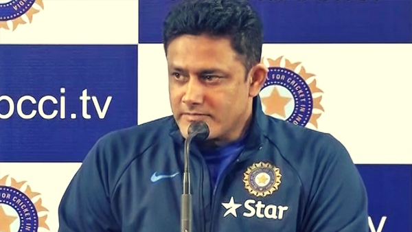 Anil Kumble spoke to the media before the Kanpur Test. (Photo: ANI)