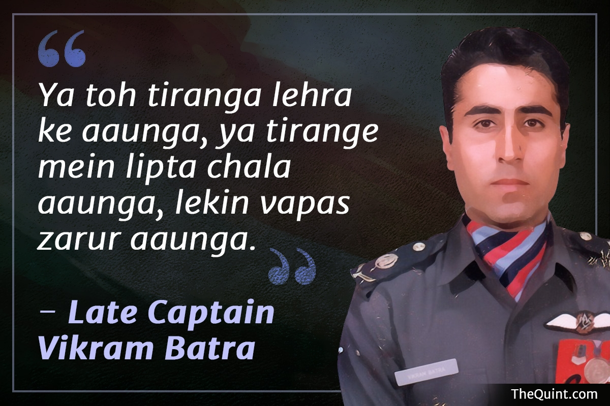 Captain Batra, The 'Sher Shah' Pak Army Feared During Kargil