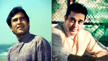 Kamal Haasan shares memories from the time when he and Rajesh Khanna were close friends. (Photo courtesy: Twitter)