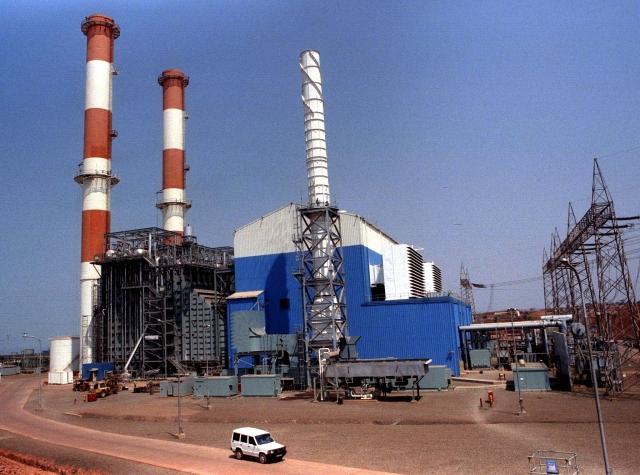 Enron power plant at Dabhol in Konkan was initially opposed by RSS. (Photo: Reuters)
